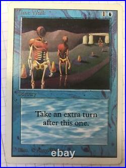Time Walk Unlimited Good Magic The Gathering