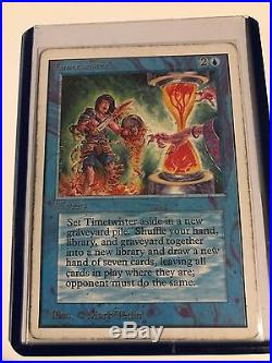 Timetwister Unlimited Played Rare Magic The Gathering Power Nine Card