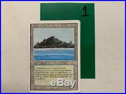 Tropical Island Revised Edition MTG LP/MP English Magic