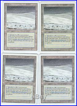Tundra Revised Magic The Gathering Rare x4 PLAY SET
