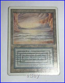 Underground Sea EX Revised Land Rare Magic The Gathering MTG Hard 8s Magic