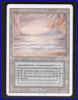 Underground Sea Revised 3rd RARE X1 Magic the Gathering MTG NM/MINT UNPLAYED