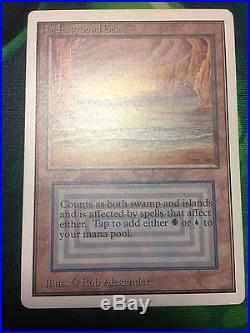 Underground Sea Unlimited NM Condition Rare Dual Land Mtg Personal Collection #4