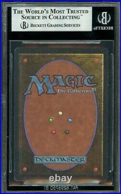 Unlimited Chaos Orb BGS 9 MTG Magic The Gathering