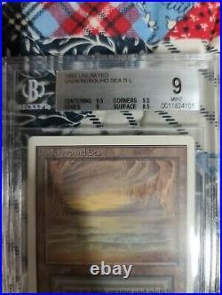 Unlimited Edition Underground Sea BGS 9.0 Magic Reserved List 1993 MTG Graded