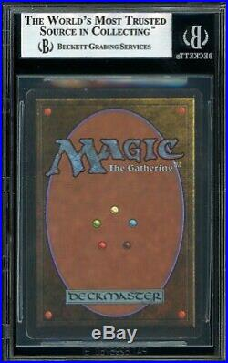 Unlimited Mox Emerald BGS 8.5 Quad++ MTG Magic The Gathering