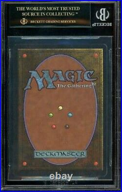 Unlimited Mox Sapphire Black Label BGS 10 MTG Magic the Gathering 1993 NM