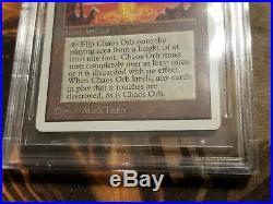 Unlimited Mtg Chaos Orb Bgs 8 Nm-mt! Rare 93-94 Reserve List Vintage Magic