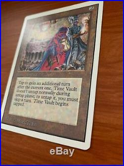 Unlimited Time Vault NM Magic the Gathering Mtg
