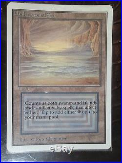Unlimited Underground Sea (dual land) mtg Looks pack fresh to me NM