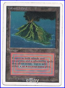 Unlimited Volcanic Island magic mtg