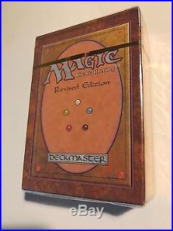 Unopened Revised Edition Started Deck Magic The Gathering Extremely Rare