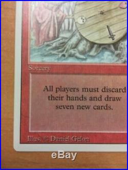 Vintage MTG Revised 3Ed RARE Wheel of Fortune NM Near mint Gorgeous condition