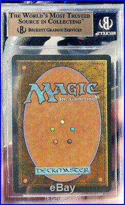 Vintage Magic BGS 9.5 MTG Unlimited Bayou, QUAD, RESERVE LIST