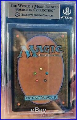 Vintage Magic GEM MINT BGS 9.5 MTG Beta Time Vault, QUAD+10