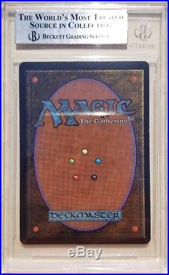 Vintage Magic MINT BGS 9 MTG Beta Time Walk QUAD+9.5, PSA QUALITY