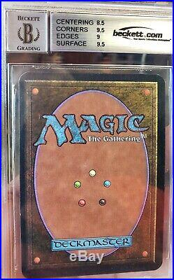 Vintage Magic MINT BGS/JSA 9/10 MTG Alpha Birds of Paradise, with2x 9.5 SUBGRADE