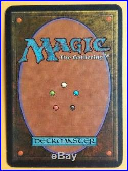 Vintage Magic MTG Alpha Will-O-THE-Wisp NM/MINT Condition, OLD SCHOOL