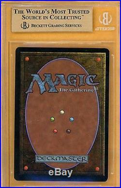 Vintage Magic MTG BGS 9.5 Unlimited Black Lotus with2x 10 SUBS, PSA QUALITY