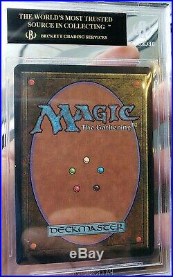 Vintage Magic PRISTINE MTG BGS 10 Italian Revised FBB Plateau, BLACK LABEL