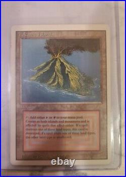 Volcanic Island Revised Dual Land MP MTG Magic The Gathering 3ED