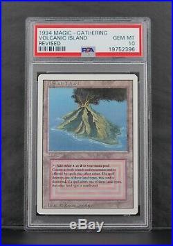 Volcanic Island Revised PSA 10 Gem Mint MTG BGS Magic the Gathering Dual Land