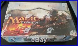 Zendikar Booster Box First Print Run RARE Magic the Gathering MTG NEW Sealed 1st